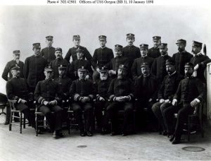 crew of the Oregon